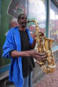 Street musician New Orleans